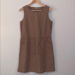 🍊2/$39 J CREW Sleeveless Cinched Waist Dress